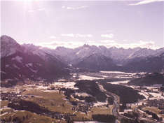 Rundflug über Vorarlberg