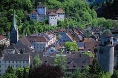 Die Schattenburg in Feldkirch